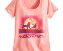 Lion King Hakuna Matata Tee for Women