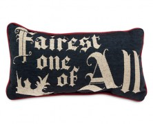 Snow White Fairest One of All Pillow
