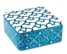 Mickey Mouse Icon Blue Trinket Box