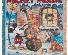 Mickey Mouse Tapestry Blanket