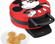 Red Mickey Mouse Waffle Iron