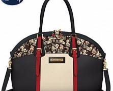 Mickey and Minnie Artistic Handbag