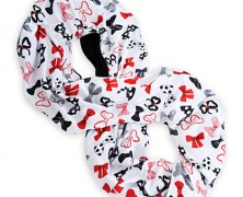Minnie Mouse Bow Infinity Scarf
