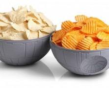 Death Star Chip and Dip Bowls