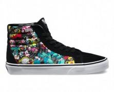 Alice in Wonderland Hi-Top Vans Sneakers