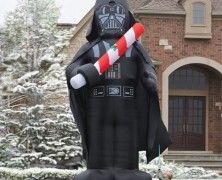 Inflatable Darth Vader