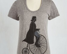 Darth Vader on a Unicycle Tee