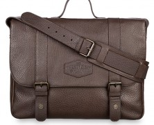 Twenty Eight & Main Leather Briefcase