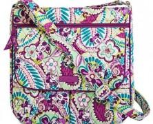 Disney Vera Bradley Plums Up Mickey Mail Bag