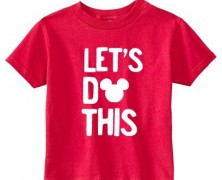 Mickey Mouse Tee For Kids