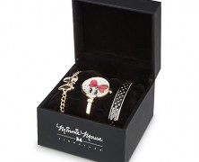 Minnie Mouse Signature Watch Set
