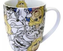 Disney All Over Miss Piggy Mug Set