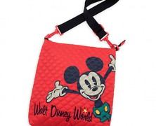 Mickey Mouse Quilted Crossbody Bag