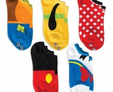 Mickey and Friends Socks Five Pack