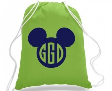 Mickey Mouse Cinch Bag