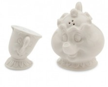 Mrs. Potts and Chip Salt & Pepper Shakers