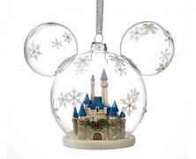 Disney Fantasyland Castle Ornament