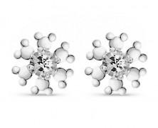Mickey Mouse Snowflake Earrings