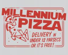 Star Wars Millennium Pizza Tee