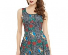 Beauty and the Beast Roses Dress