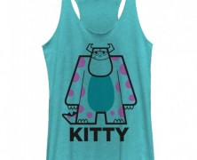 Monsters Inc Sully Kitty Tank