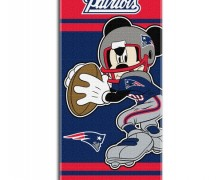 Mickey Mouse New England Patriots Towel