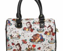 Beauty and the Beast Tattoo Handbag