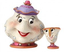 Mrs. Potts and Chip Figures by Jim Shore