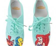 Little Mermaid Sneakers