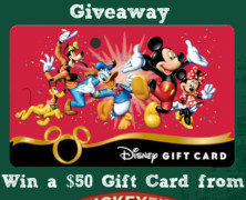 Back to School $50 Disney Gift Card Giveaway! (closed)