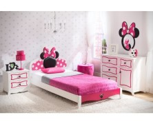 Minnie Mouse 4 Piece Bedroom Set