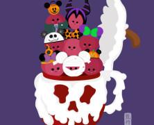 Disney Halloween Food Art by Donna Yan