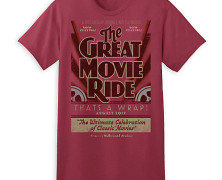 Great Movie Ride Farewell T-Shirt