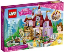 Belle's Enchanted Castle LEGO Set