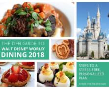 Disney Food Blog Guide to Disney World Dining 2018