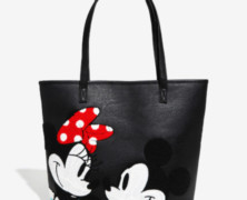 Mickey and Minnie Tote by Loungefly