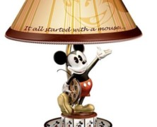 """Disney """"Mickey Mouse Animation Magic"""" Spinning Lamp"""